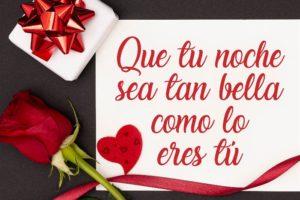 Frases y mensajes de buenas noches, amor