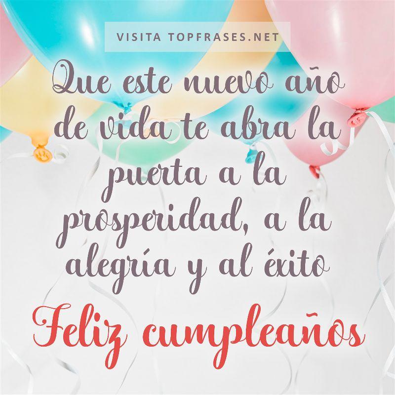 Frases de cumpleaños para alguien especial