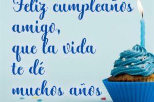 Frases de cumpleaños para un amigo