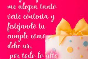 Frases de cumpleaños para una hermana